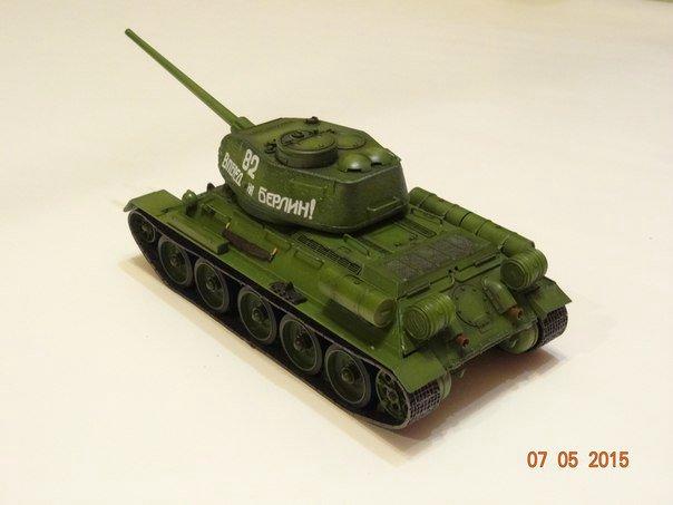 Т-34-85 Звезда 1/35 805228e89929