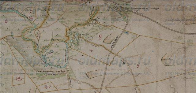 Козлов-Мичуринск на картах 94430c411d7f