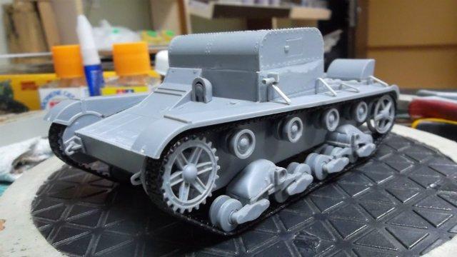 Т-26Т артиллерийский тягач, 1/35, (RPM 35072). 6f6adea6955a