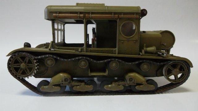 Тягач Т-26 / трофейный польский С7Р, 1/35, (Mirage hobby 35903). 5c601e78a0bf