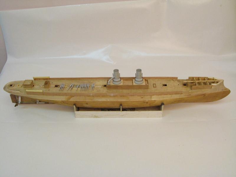 Croiseur AMIRAL KORNILOV 1888 par Alexandre au 1/100 - sur plans Fe735a430136