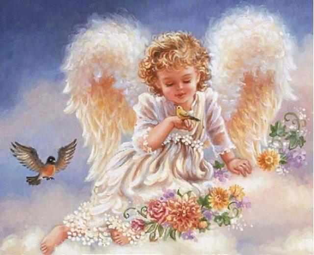 Рождественские ангелы от Dona Gelsinger 1353d4bc223e