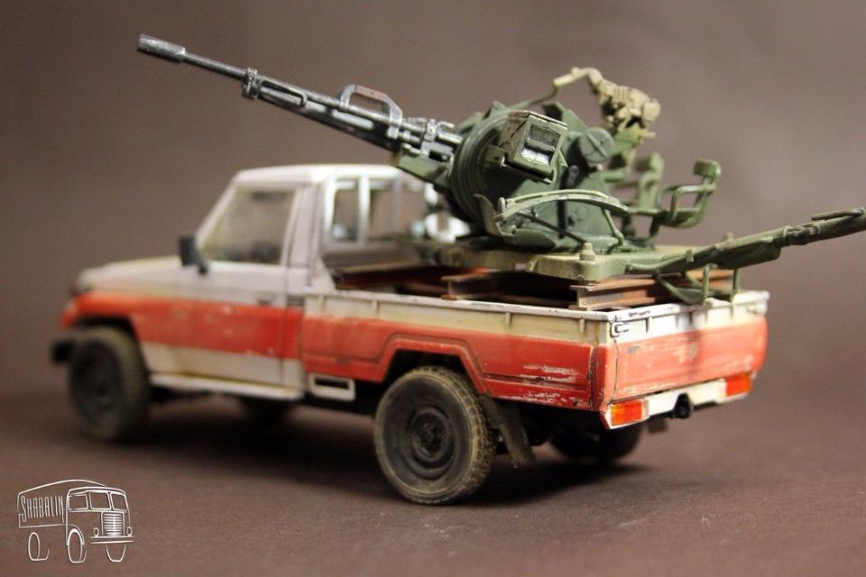PickUP w/ZU-23-2 от Meng, масштаб 1/35 9042ff5fdadf