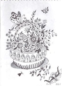 Рисунки ручкой Fa1f0e3210f2t