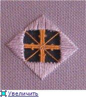 Хардангер Урок: Picots and Diagonal twists A4f75a1a6eddt