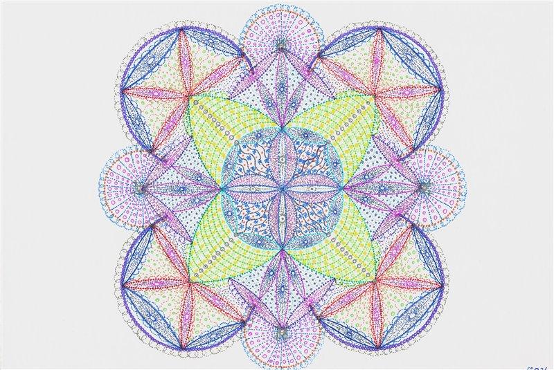 Мандалы для коллективных медитаций а так-же для индивидуального назначения. - Страница 2 7cfbc809508d
