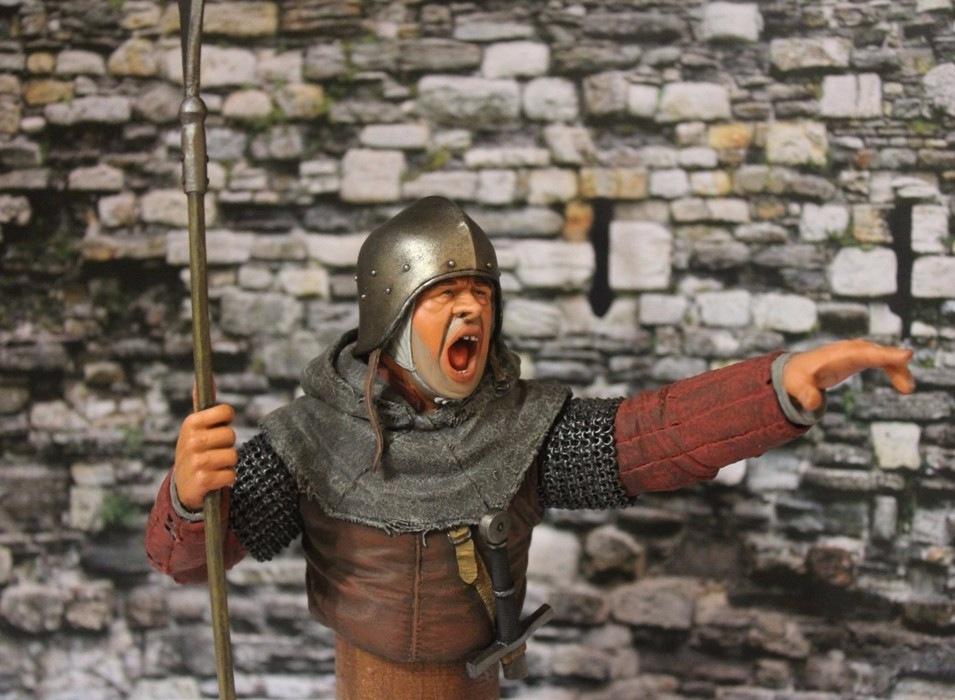 "2 шиллинга 5 пенсов ""Medieval guard"", Автор: Дмитрий Фурсов, г. Тамбов. 90fa45282d4c"