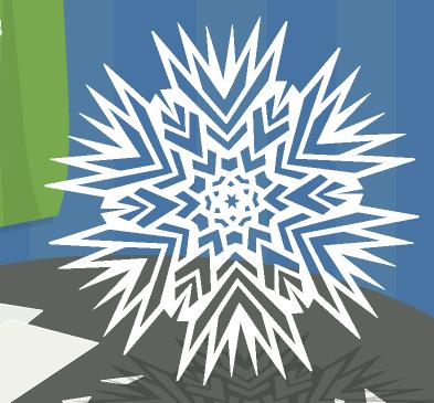 Зимнее рукоделие - вырезаем снежинки! 6fb63f304b38
