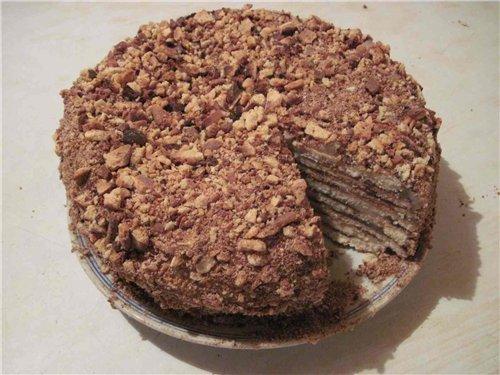 Торт на сковороде, с заварным кремом - Страница 3 D63327162be3