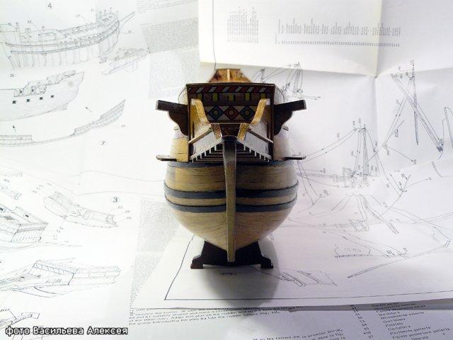 Галеон GOLDEN HIND (Золотая лань) ЖЕЛЕЗНОГО ПИРАТА масштаб 1:53 Af6e0e39e172