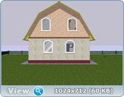 Проект часного дома с мансардой  420fd8d6b85d