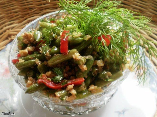 Салат из стручковой фасоли  9eb3acd709da
