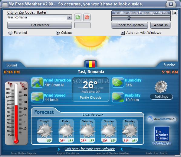 الان اقدم لكم برنامج معرفة درجة حرارة الطقس من رفعي MyFreeWeather_02large