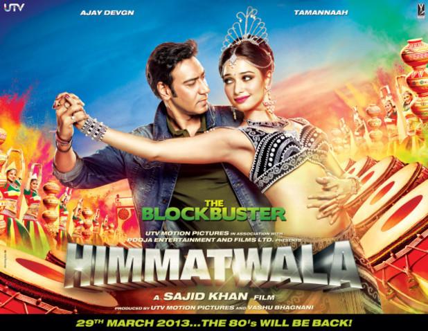 'Billie Jean' sarà la colonna sonora del film 'Himmatwala'  Bollywood_himmatwala_poster