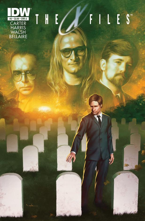 X-Files - Saison 10 Comics-x-files-10-lone-gunman-1