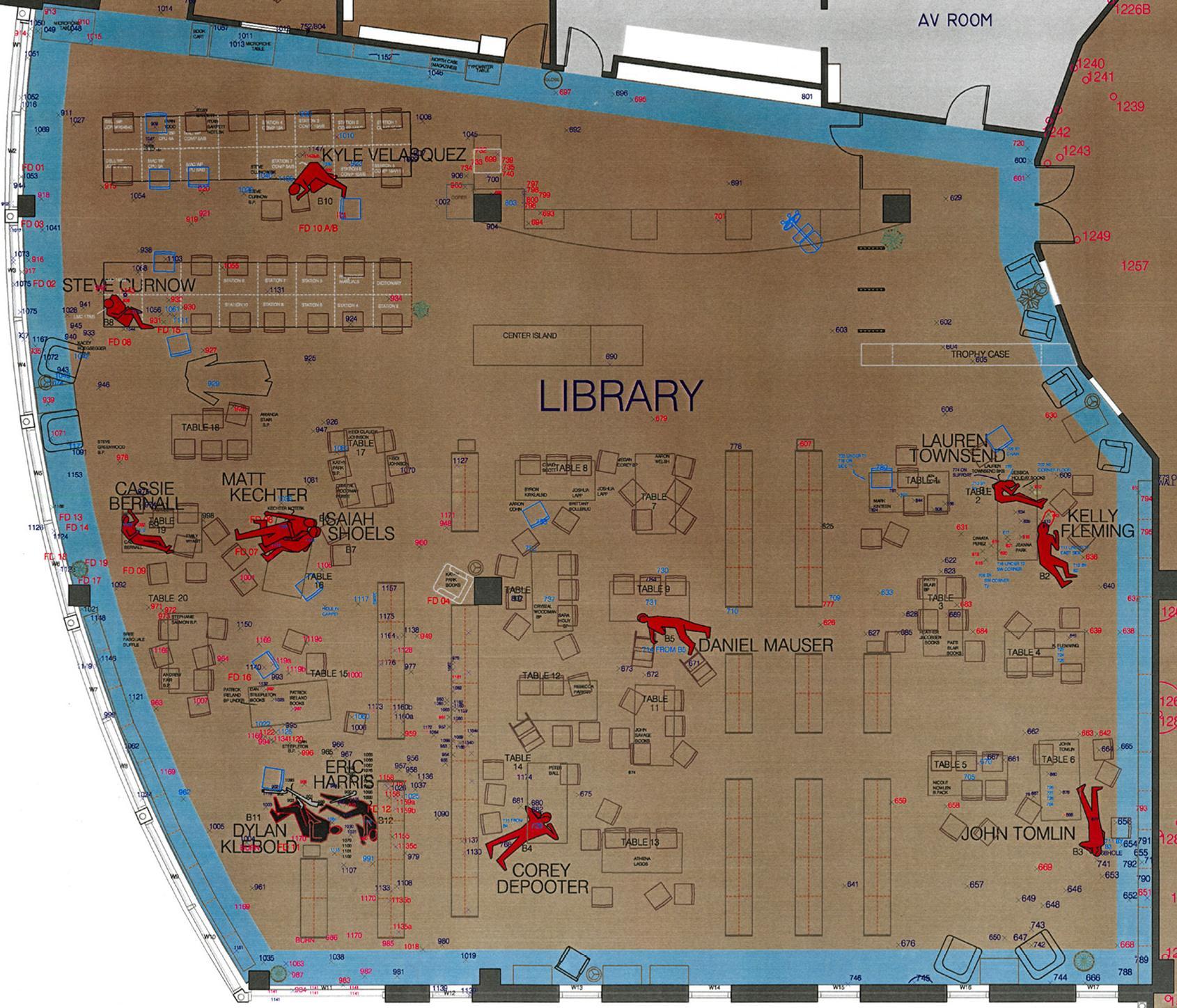 Full library video.  27687_LibraryCrimeSceneDiagram_123_549lo