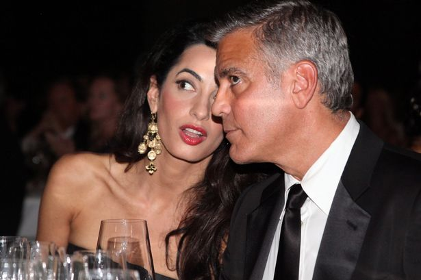 George Clooney says remodelling Sonning house has been fun but hell  JS45743156