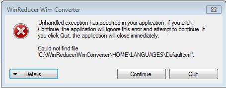 WinReducer Wim Converter - v1.05 030b84cafd150742d081695da65bee2b
