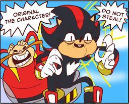 Les memes: Sonic sur Internet 373