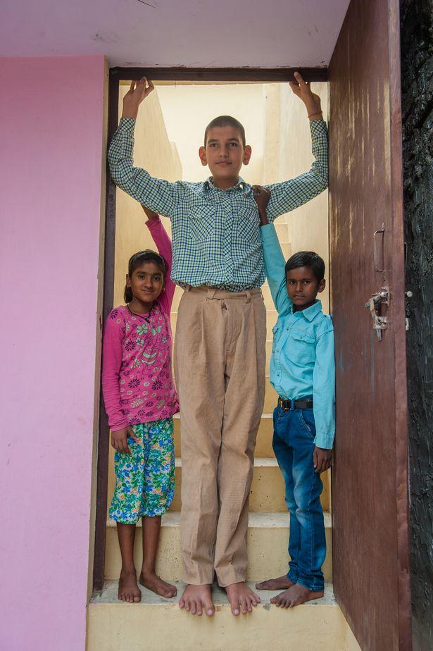 La historia del niño más alto de la India, Karan Singh PROD-DSC_3665