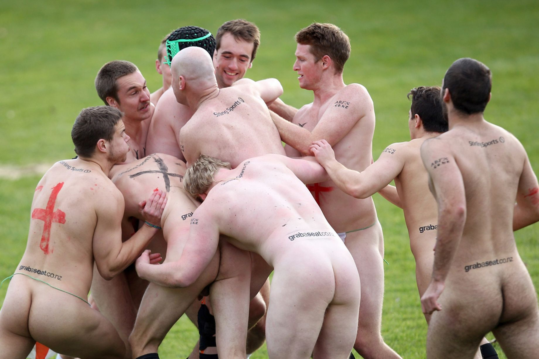 RUGBY  - Page 2 England-v-New-Zealand-Naked-Rugby-Match