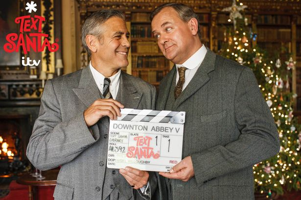 George Clooney to appear in Downton Abbey episode for charity - Page 2 Text-Santa-on-ITV