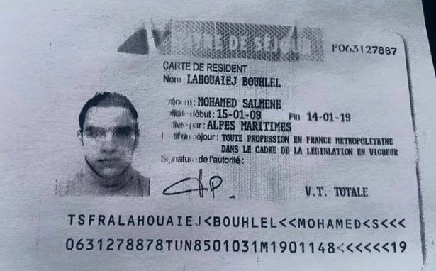 """Truck Attack – """"Anschlag"""" in Nizza ID-card-reported-to-belong-to-Mohamed-Lahouaiej-Bouhlel"""