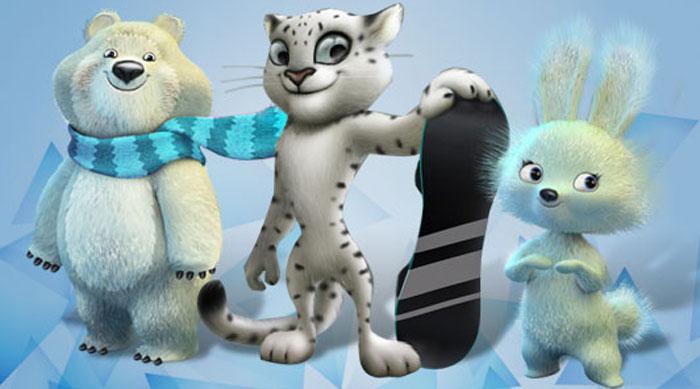 XXII ZOI Soči 2014. Mascotes-Sochi-060311-700x-div