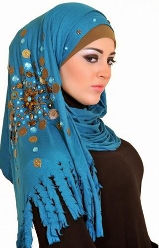 لفات حجاب أنيقة رغم بساطتها 548719a5290b1