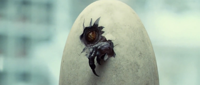 What Thing Iconicizes Each Movie?   Jurassicworld-indominusrex-hatching