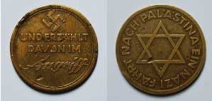 The Holocaust/Holohoax - Page 5 The-Nazi-Zionist-Connection-Coin