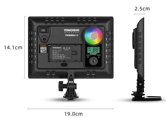 Đèn Yongnuo YN300Air II RGB Den-led-Yongnuo-YN300AIR-II-RGB-1