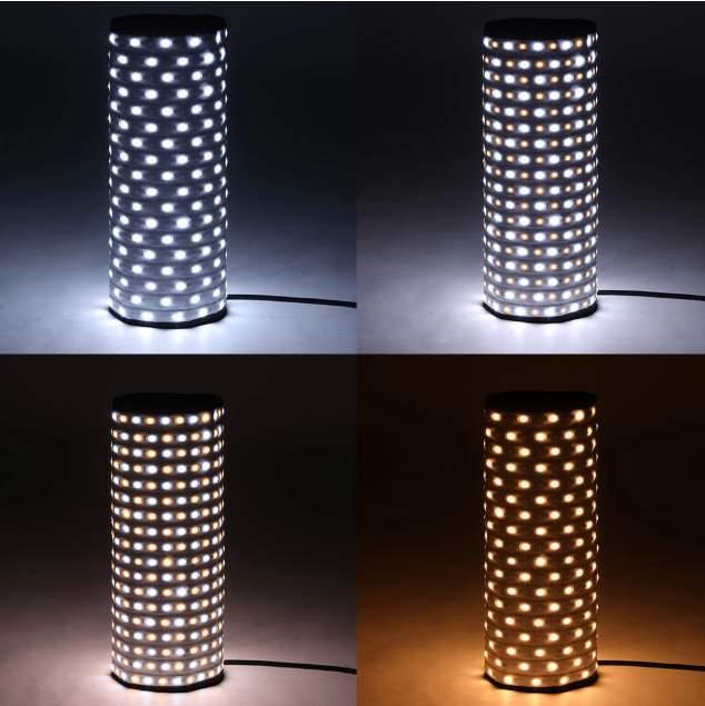 Đèn led dàng cuộn dành cho quay phim Den-led-dang-cuon-100-RX-718RGB-Falconeyes-2