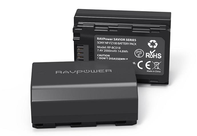 Pin dành cho máy ảnh sony Pin-may-anh-Sony-NP-FZ100-Ravpower-1