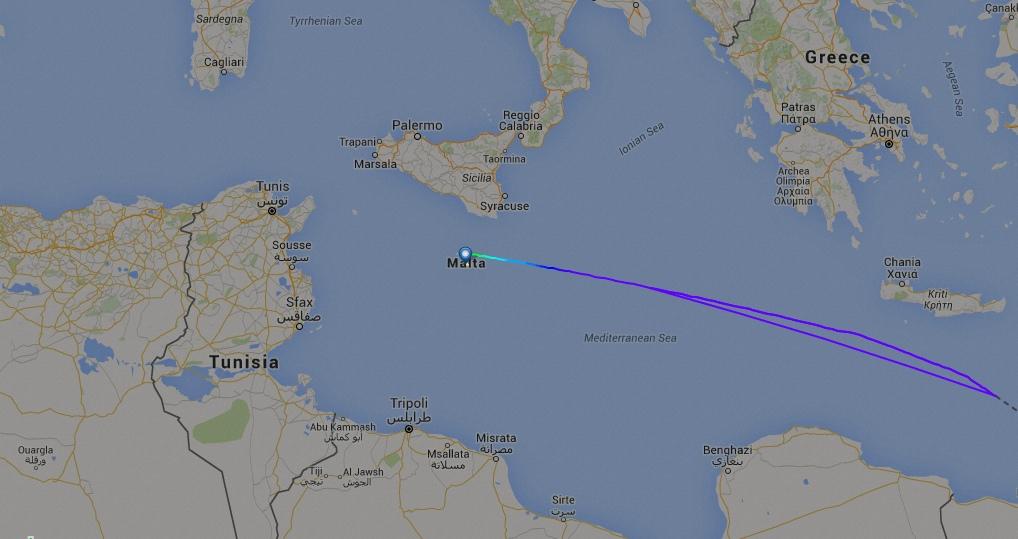 EMBRAER KC-390  - Página 2 KC-390-a-caminho-de-Malta