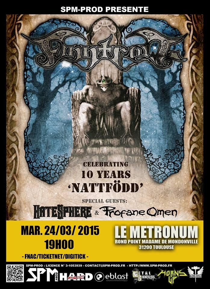 Finntroll @ Le Metronum - Toulouse, France le 24 mars 2015 1555431_791419867590190_3686801149248743834_n