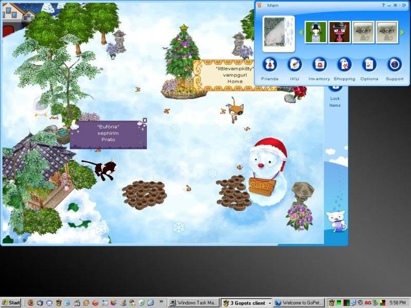 Old Client Screenshots Race