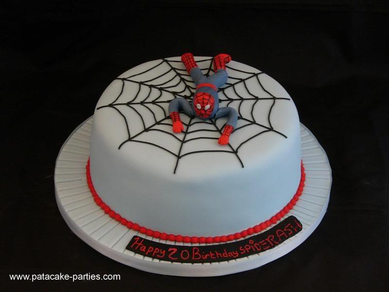 Bon anniiversaire spider Ash! Spiderman20Cake