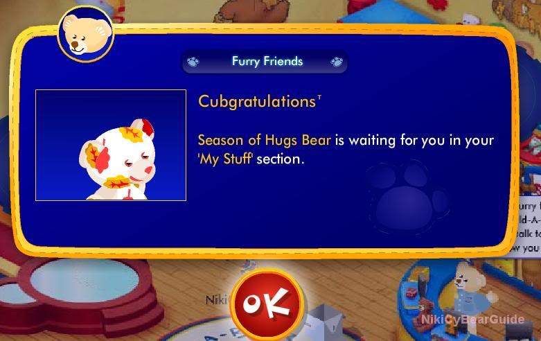 New Furry Friend: Autumn Hugs Bear ScreenShot258