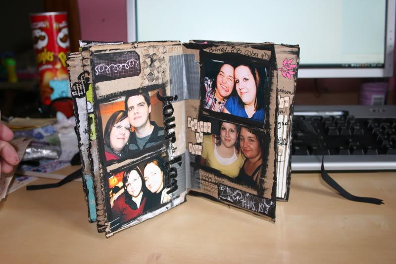 mini album maison : les pages de notre amitié 008-3