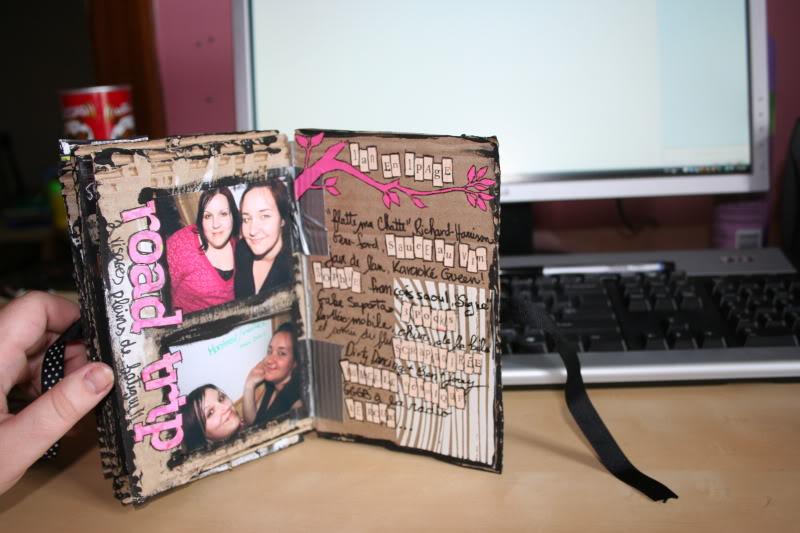 mini album maison : les pages de notre amitié 009-4