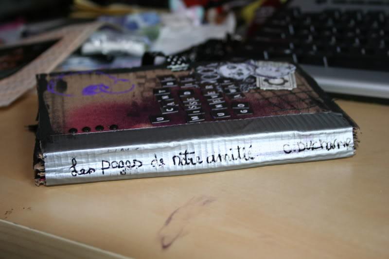 mini album maison : les pages de notre amitié 011-1