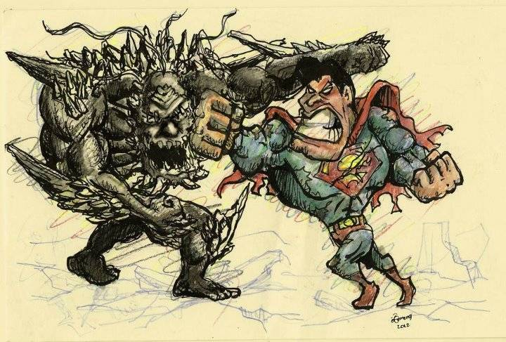 Something Different: Supes vs Doomsday 293860_4313257799140_1825075206_n