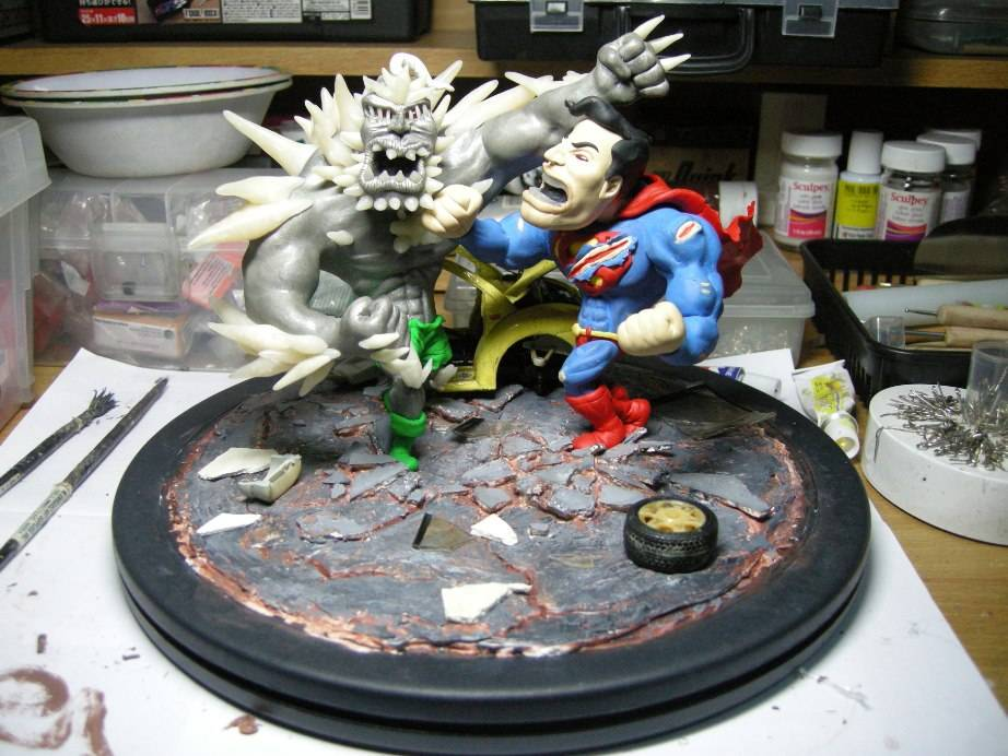 Something Different: Supes vs Doomsday 37097088