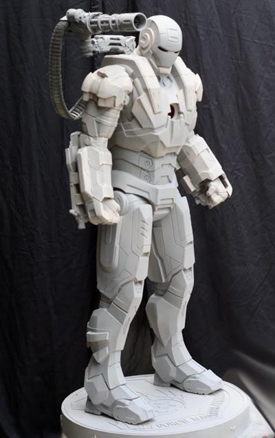 Warmachine half scale statue 47d4730a