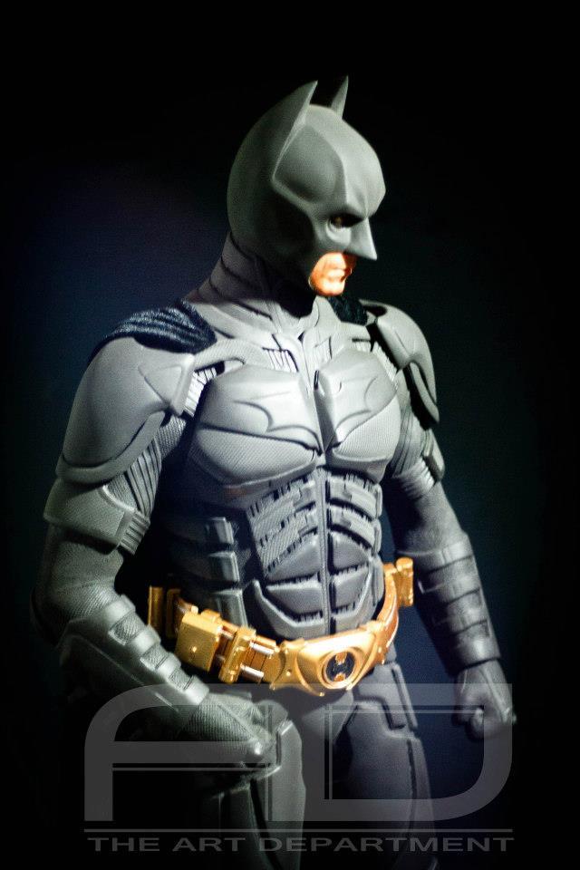 Dark Knight ( C. BALE)  Half Scale custom full statue 305624_482607871784423_852067852_n