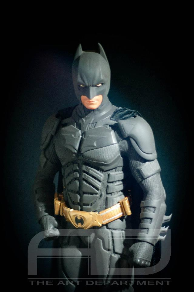 Dark Knight ( C. BALE)  Half Scale custom full statue 534075_482607691784441_1332608956_n