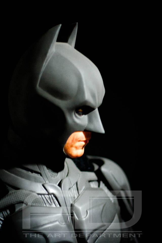 Dark Knight ( C. BALE)  Half Scale custom full statue 8808_482607895117754_2135789725_n