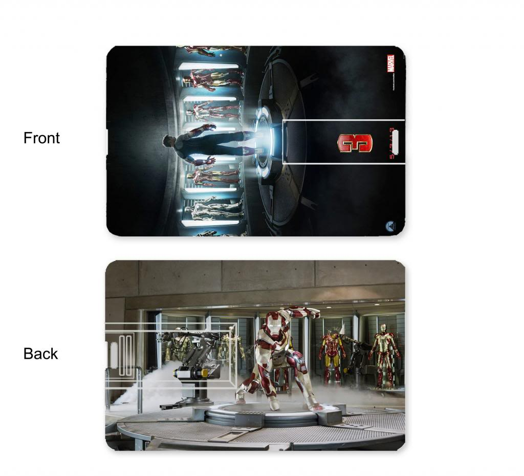 Iron Man 3 Credit Card style USB Ironmandesignpicture_zps7ccbcec9