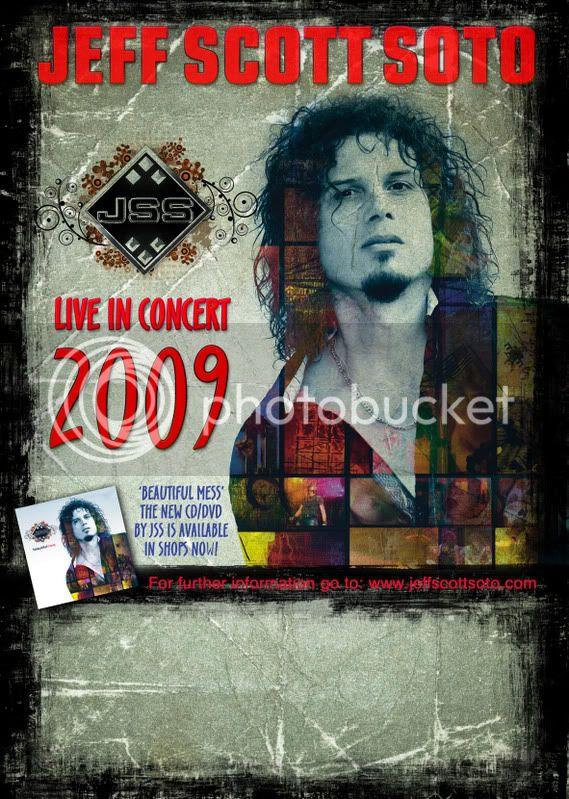 2009 - Apr. 18 -  Heineken Sala Arena - Madrid, Spain JSS_BEAUTIFUL_MESS_POSTER